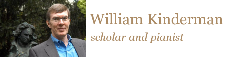 William Kinderman: Scholar and Pianist